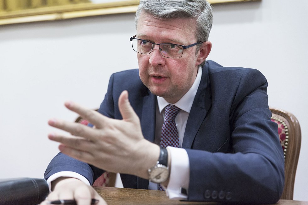Ministr Karel Havlíček