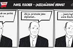Prezidentské volby - komiks - Pavel Fischer - (Mezi)národní hrdost