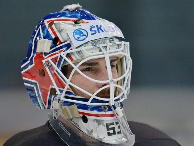 Alexander Salák se svým Novosibirskem první čtvrtfinále KHL prohrál.