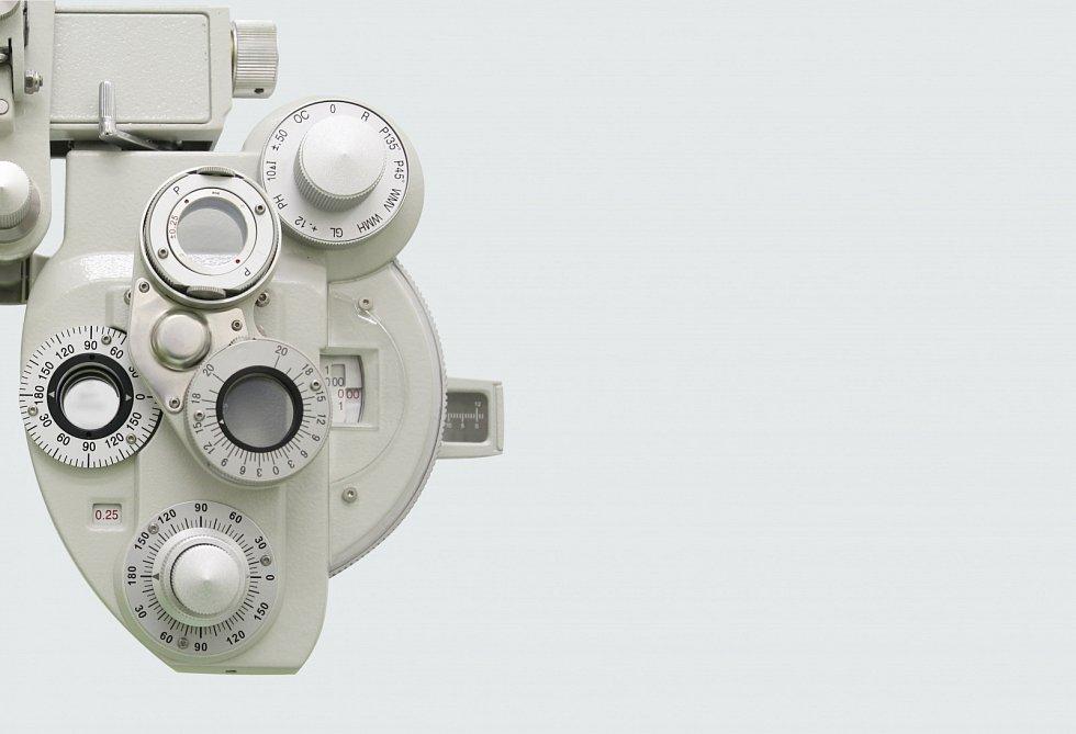 Přístroj na měření zraku