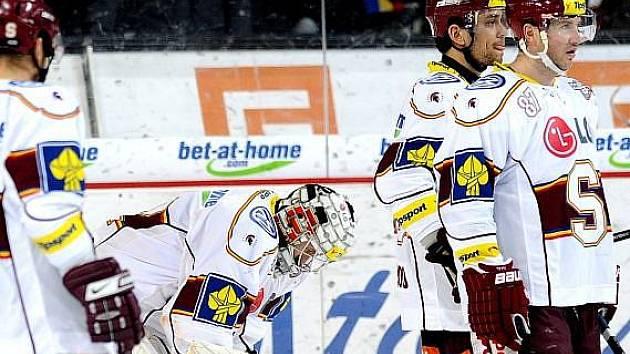 Hokejisté Sparty podlehli doma Zlínu 0:4.