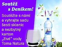 Soutěž Deníku: O karton vody Toma Natura