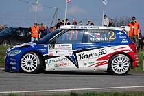 Pavel Valoušek překvapivě triumfoval na rallye Šumava.