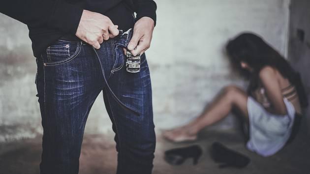 Sexuální násilí - Ilustrační foto