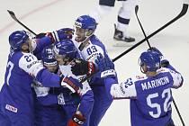 Radost slovenských hokejistů