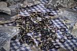 Prstýnky, náramky a keratinové pláty želvoviny k jejich výrobě