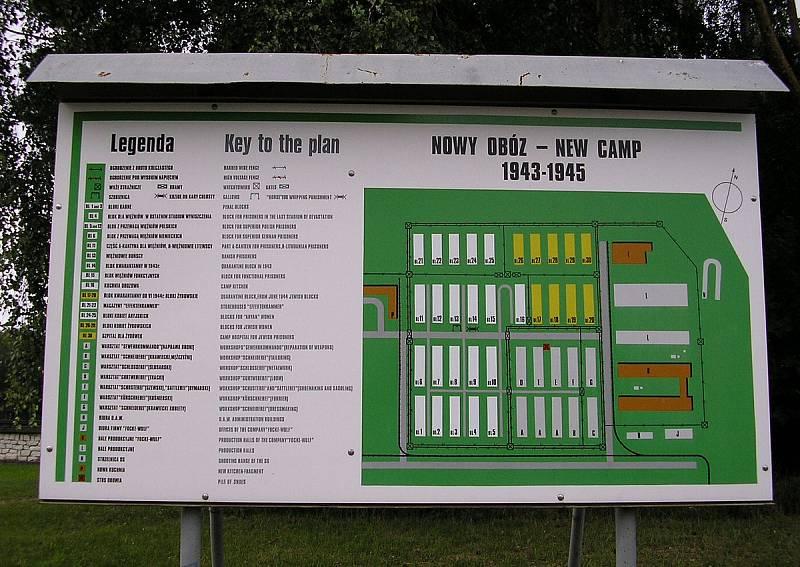 Plán koncentračního tábora Stutthof