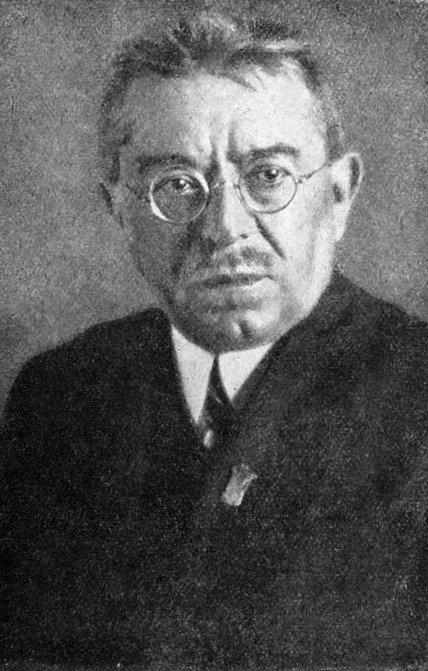 F. S. Procházka v pozdějších letech.