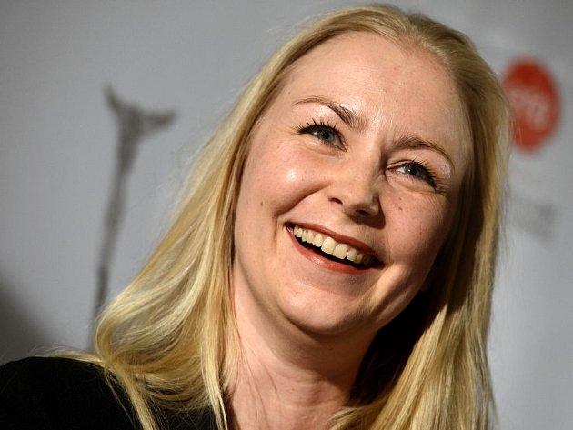 FINSKÁ VÍTĚZKA. Režisérka Zaida Bergroth na tiskové konferenci.