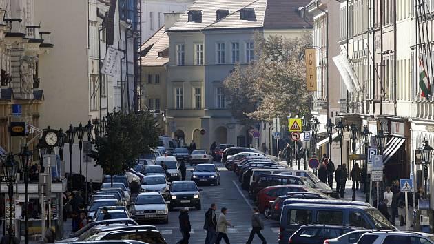Rytířská ulice v Praze