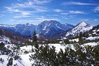 Alpské scenérie