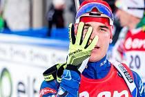 Michal Krčmář vybojoval ve vytrvalostním závodu na mistrovství světa páté místo.