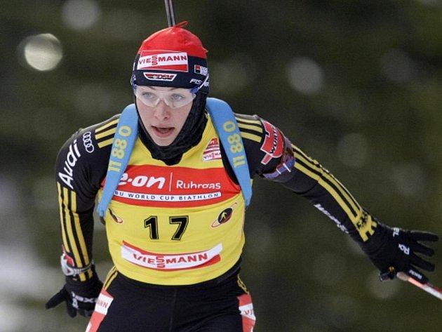Německá biatlonistka Magdalena Neunerová podruhé v kariéře vyhrála celý SP.