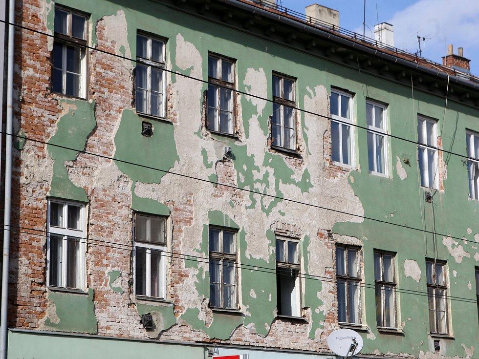 Brno 6.3.2019 - ulice Milady Horákové v Brně