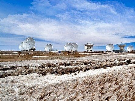 Astronomická observatoř v Chile. Ilustrační foto.
