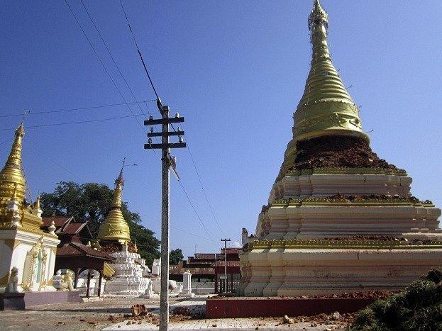 Zemětřesení v Barmě si vyžádalo nejméně 11 mrtvých
