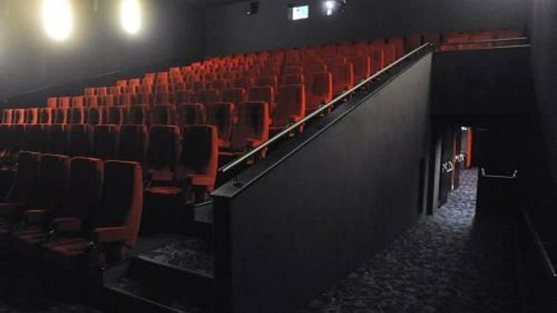Kino, sedačky, sál - ilustrační foto
