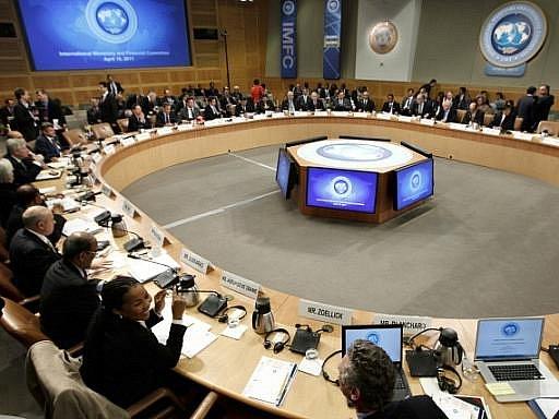 Zasedání Mezinárodního měnového fondu. Ilustrační foto