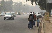 Znečištěné Dillí.