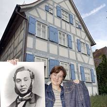 Straussův rodným dům v bavorském Buttenheimu