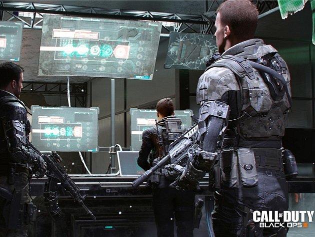 Počítačová hra Call of Duty: Black Ops 3.