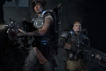 Počítačová hra Gears of War 4.