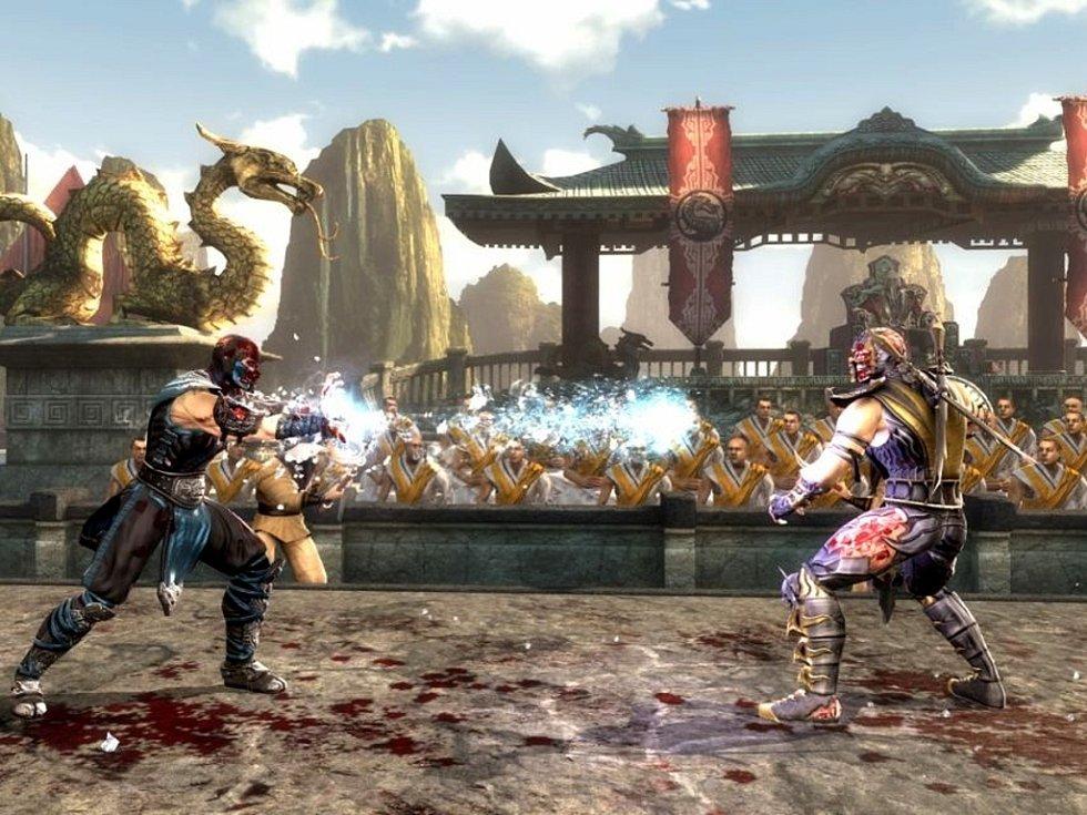 Počítačová hra Mortal Kombat.