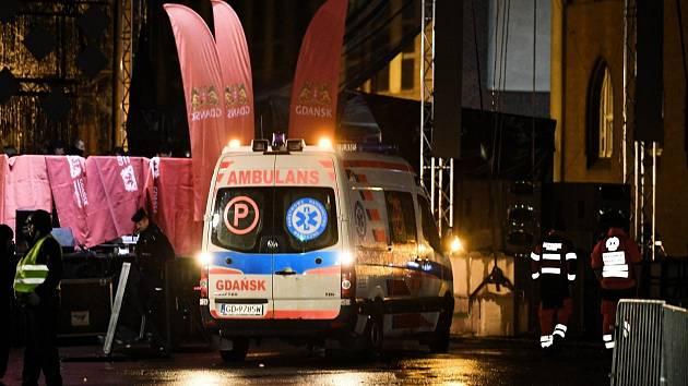 Starostu Gdaňsku Pavla Adamowicze pobodal útočník