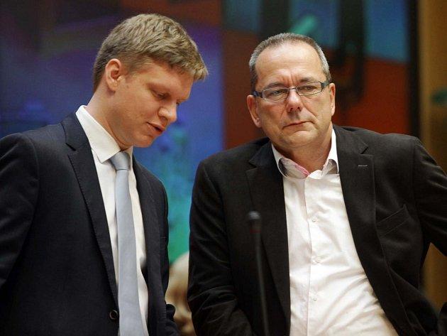 Tomáš Hudeček a Jiří Vávra (vpravo)
