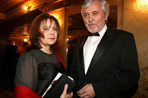 Josef Abrhám a Libuše Šafránková na vyhlašování Českého lva v roce 2007