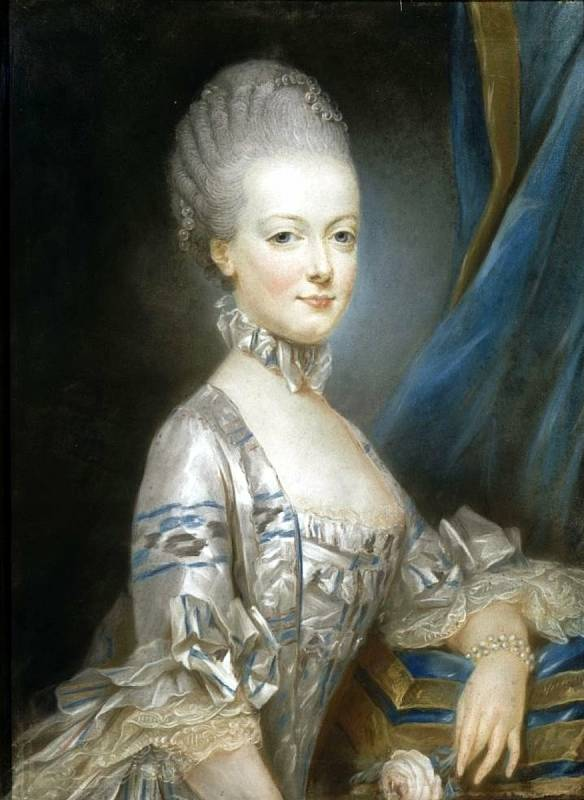 Marie Antoinetta jako třináctiletá. Údajně právě tento portrét od Josepha Ducreuxe byl poslán před svatbou Ludvíkovi XVI. Foto: Wikimedia Commons, volné dílo