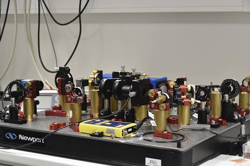 Nové moderní laboratoře na Univerzitě Palackého v Olomouci