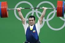O druhé olympijské zlato pro Írán ze vzpěračských soutěží v Riu de Janeiro se postaral Sohráb Moradí vítězstvím v kategorii do 94 kg.