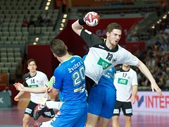 Házenkáři Německa v zápase proti Slovinsku
