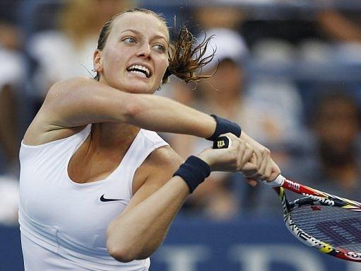 Petra Kvitová na US Open 2012.