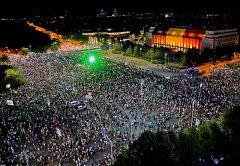V Rumunsku pokračovaly demonstrace proti vládě a proti policejní brutalitě
