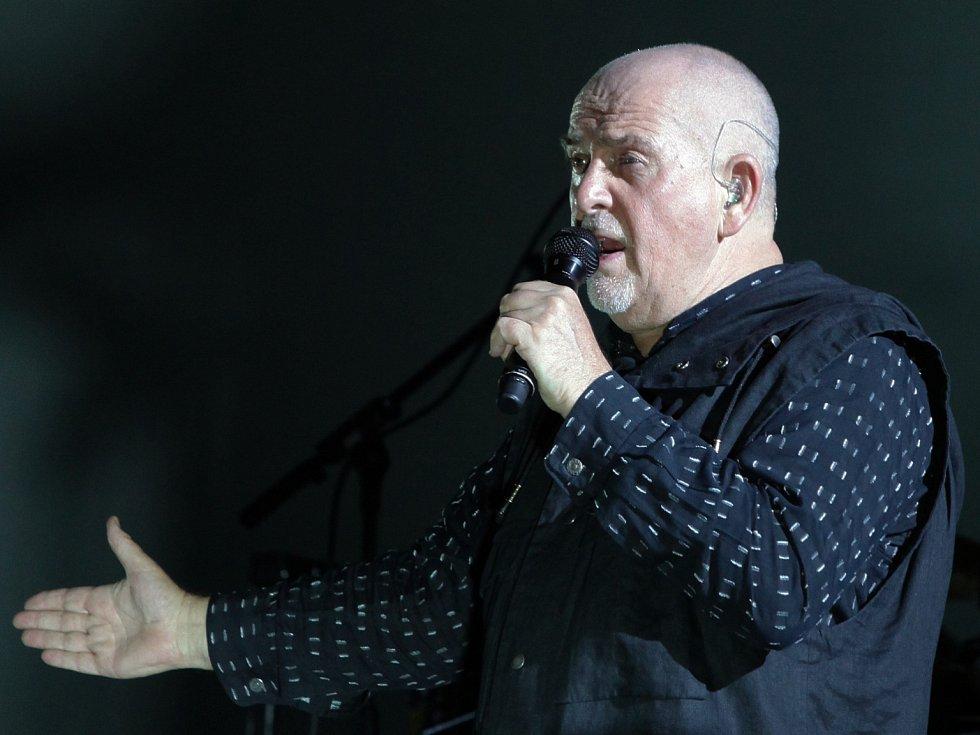 Koncert Peter Gabriel v O2 Areně.