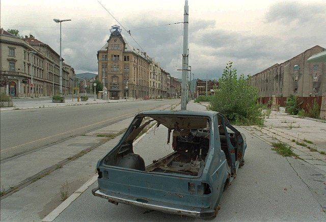 Sarajevo během bosenské války