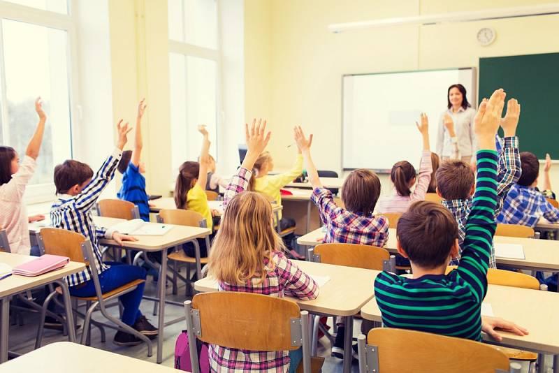 Školní výuka. Ilustrační snímek