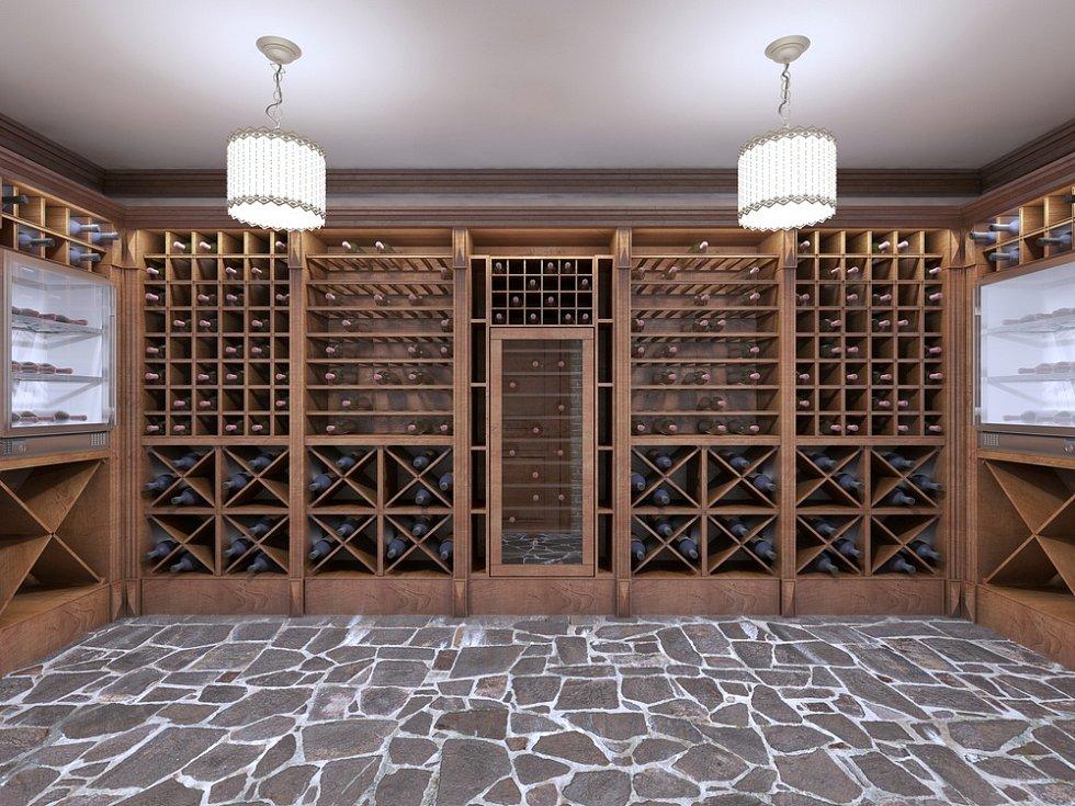 Luxusní vinotéka