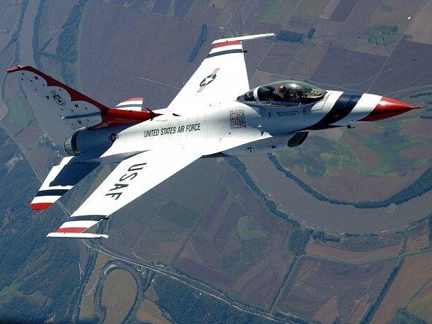 Stíhačka F-16. Ilustrační foto.