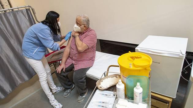 Očkování proti koronaviru v Kutné Hoře