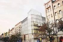 vizualizace - náhrada Kozákova domu na Václavském náměstí