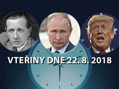 Vteřiny dne 22. srpna 2018