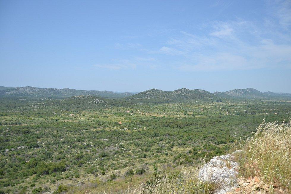 výhled z Velké Mrdakovice