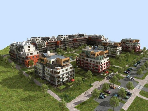Společnost Finep plánuje v Praze postavit samostatnou městskou část.