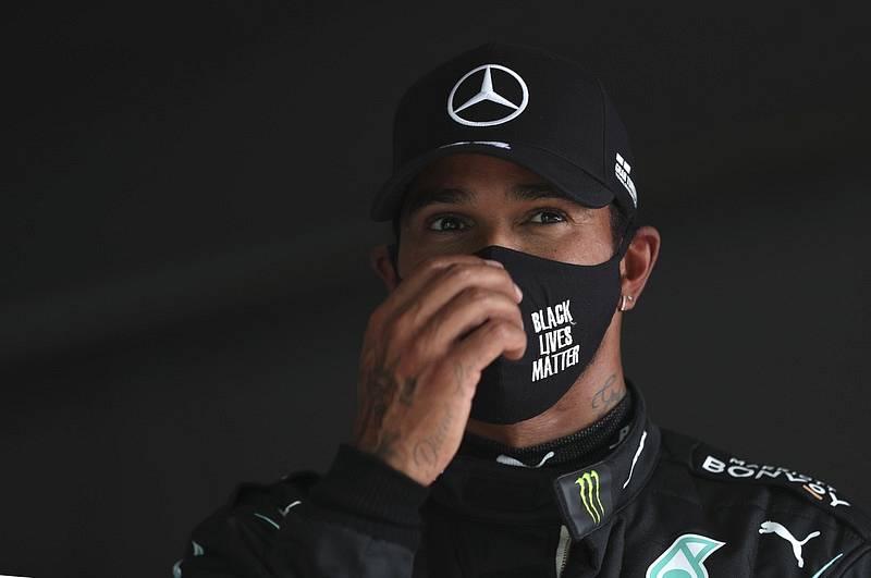 Pilot F1 Lewis Hamilton
