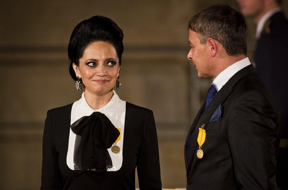 Lucie Bílá a Filip Renč
