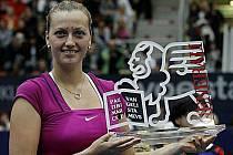 Petra Kvitová vyhrála od Wimbledonu první turnaj WTA.