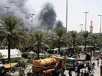 Nepokoje v irácké Karbale. Bezpečnostní situace je jedna z hlavních věcí, které zpráva Kongresu kritizuje.